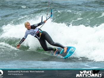 Jarrod Snow and Ashley Brunette Claim National Titles - Kitesurfing News