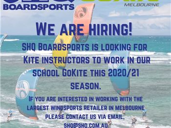 Want teach kitesurfing in Victoria?