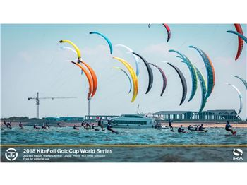 2018 Ika Kitefoil Goldcup World Series, Weifang - Day Four - Kitesurfing News