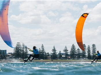 Kitefoil National Racing Titles and HFPT