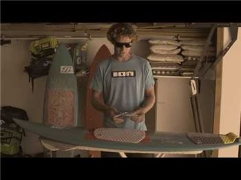 How to stick a surfpad on your kiteboard (surfboard) - Kitesurfing Articles